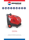SIDRA - Professional Hot Water High Pressure Cleaners Brochure