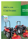 Model FL and FM Series - Light Rotary Tillers Brochure