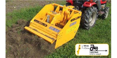 DITTA - Model Serie 120.35 - Spading Machines
