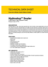 Hydrostop - High-Performance Penetrating Sealer Brochure