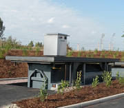 Underground waste storage for municipalities