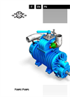 Model 23 - Air Cooled, Sliding Vane Vacuum/Pressure Pumps with Lubrication Brochure