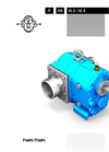 Model VL 2 - Self Priming Rotary Lobe Liquid Transfer Pumps Brochure