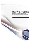 ROTOPLAT - Model 3000HD - Automatic Stretch Wrapping Machine with Rotating Table Brochure