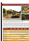 Brush Wolf 4800X LF Brush Cutter Attachments for Mini Excavators and Backhoes Brochure