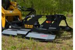 Brush Wolf - Model 72 M-AX - Brush Cutter Attachments for Skid Steers