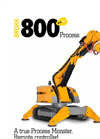 Brokk - Model 800 P - Demolition Robot Machine Brochure