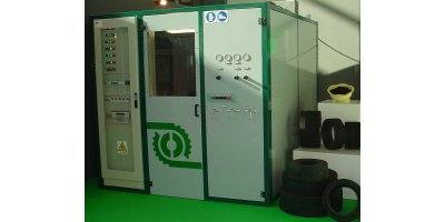 Model AT22110 - Waste Solid Tires Recycling Fray Machine