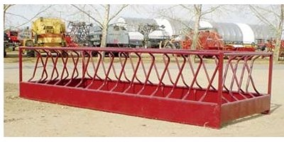 Model 3001 - Heavy Duty One Piece Three Bale Cow Feeder