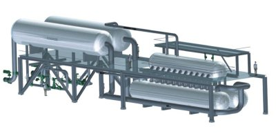 Model SGS3  - Thermal Oil Steam Generator Systems