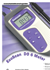 EcoScan - Model DO 6 - Hand Held Oximeter Brochure
