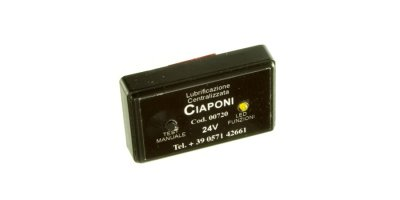 CIAPONI - Model 1.4.5- 12/24 V - Dc Programmable Timer