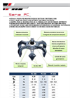 Model PC Series - Hydraulic Grapple Brochure