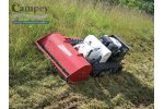 Timan - Model RC-750 - Remote Control Brush Cutter & Slope Mower