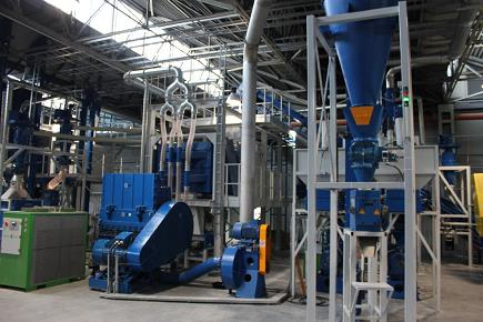 Tyre Recycling Plant Chooses ITS Granulator-0
