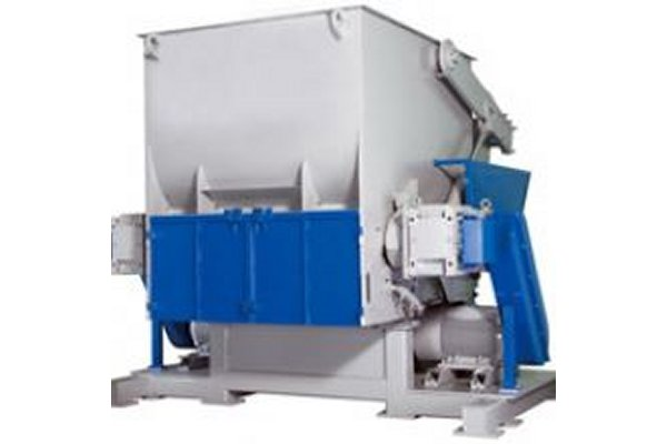 ITS - Model ZXS - Single Shaft Shredder - Heavy Duty Series