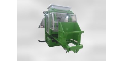 Model HZBM 1012 - Concrete Paving and Block Making Machine