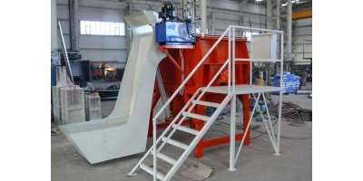 Model HZBM 1020 - Concrete Paving and Block Making Machine