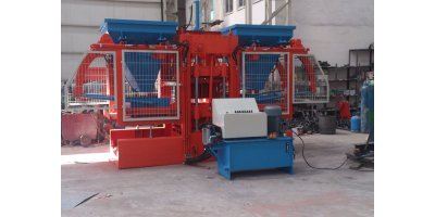 Model HZE 1025 - Concrete Paving and Block Making Machine