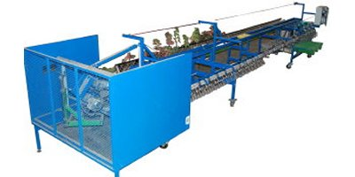 Mecaflor - Model Triplants 6200 - Vine Seedlings Machine