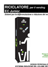 Greeny ECJUNIOR - Ecological Waste Compactor System Brochure