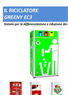 Greeny - Model EC3 - Ecological Waste Compactor System- Brochure