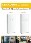 Greeny - Model EC2+1 - Ecological Waste Compactor System- Brochure