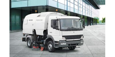 CityFant - Model 5000 - Truck Mounted Sweeper