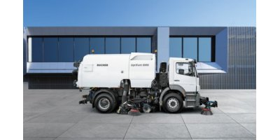 CityFant - Model 6000 - Truck Mounted Sweeper