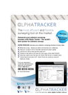 Alpha Tracker Asbestos Surveying Software