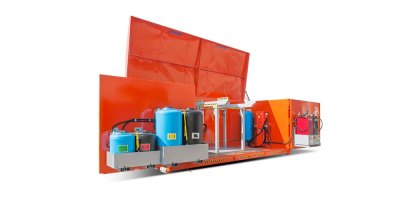 Model ISC - Mobile Drainage System with Container