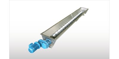 Model CX - Stainless Steel Trough Screw Conveyors