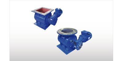 Model RV - RVR - Drop-Through Rotary Valves