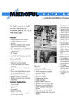 Cylindrical Mikro-Pulsaire - Pulse Jet Collectors Datasheet