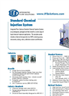 IFS - Model SCIS-100.0 - Chemical Injection/Feed Systems - Datasheet