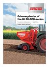 Model GL 32E - 2-Row Cup Planter - Brochure
