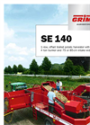Model SE140 - Single-Row Potato Harvester  - Brochure