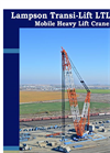 Lampson - Model LTL-3000 - Transi Lift Crane Brochure
