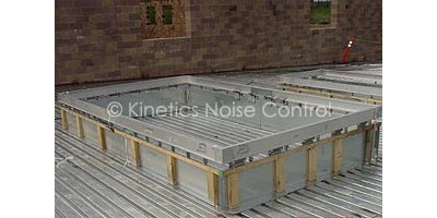 Kinetics Kscr Vibration Isolation For Hvac Roof Curbs