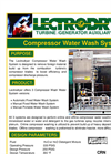 Lectrodryer - Compressor Water Wash System - Datasheet