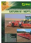 Saturn – Neptun - Combined Cultivators for Preparation of Seedbed - Brochure