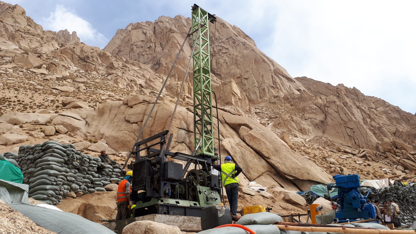 Geotechnical Investigation of New Salang Tunnel