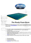 Ready Foam Wall Berm Brochure