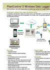 PlantControl - Model D - Wireless Data Logger and Sensors Brochure
