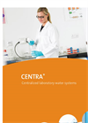 ELGA - Model CENTRA - Water Purification Systems Brochure