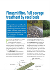 Phragmifiltre - Reed Bed Technology Brochure