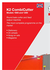 TKS - 1600 and 1200 - K2 CombiCutter System - Brochure
