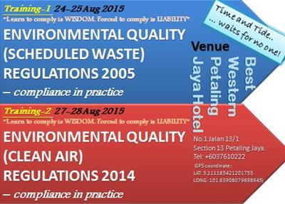 1 Environmental Quality Scheduled Waste Regulations 2005