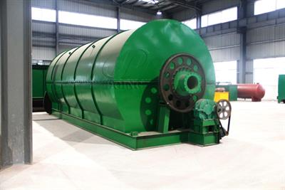 Henan-Doing - Waste Tire to Fuel Oil Pyrolysis Plant