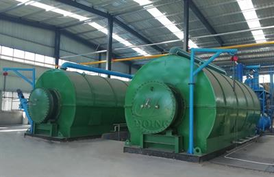Henan-Doing - Recycling Waste Tire to Fuel Oil Pyrolysis Plant